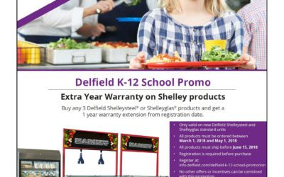 K-12 Schools promotion for you from Delfield!