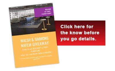 Win $25,000 in Furniture with Walsh and Simmons!
