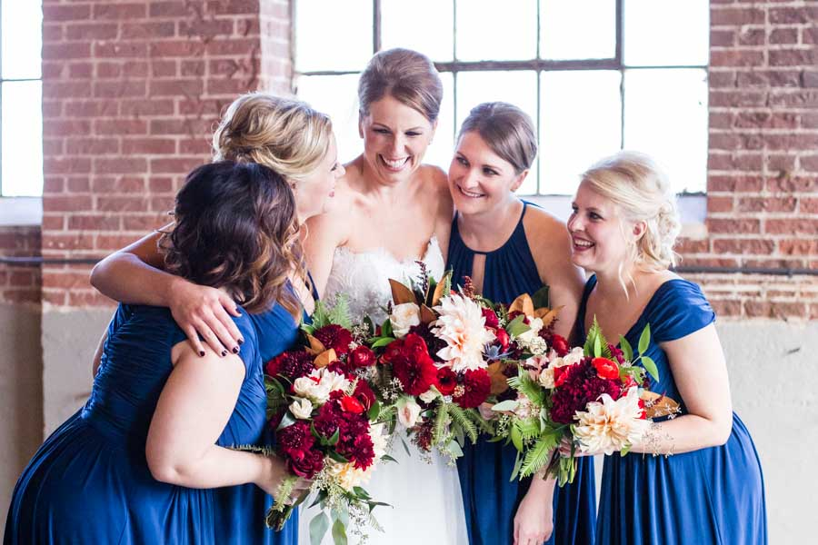 Denver Moss wedding photographer affordable Littleton bridal party