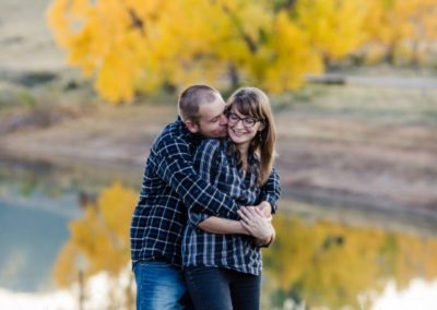 Littleton couples photographer in love snuggles photography