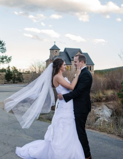 St. Malos Church on the Rock Estes Park Colorado wedding photographer